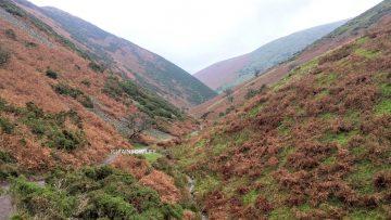 谷の景色は絵画のようで、特に一見の価値ありのシュロップシャーヒルズ!