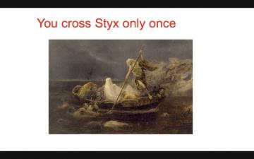 西洋 東洋 の違い ギリシャ神話では人生は一度きり