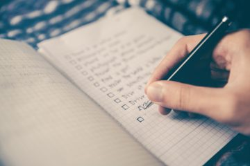やりたいことリストを書いて 休日が充実